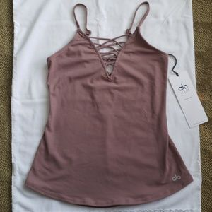 Alo Yoga Interlace Fitted Tank